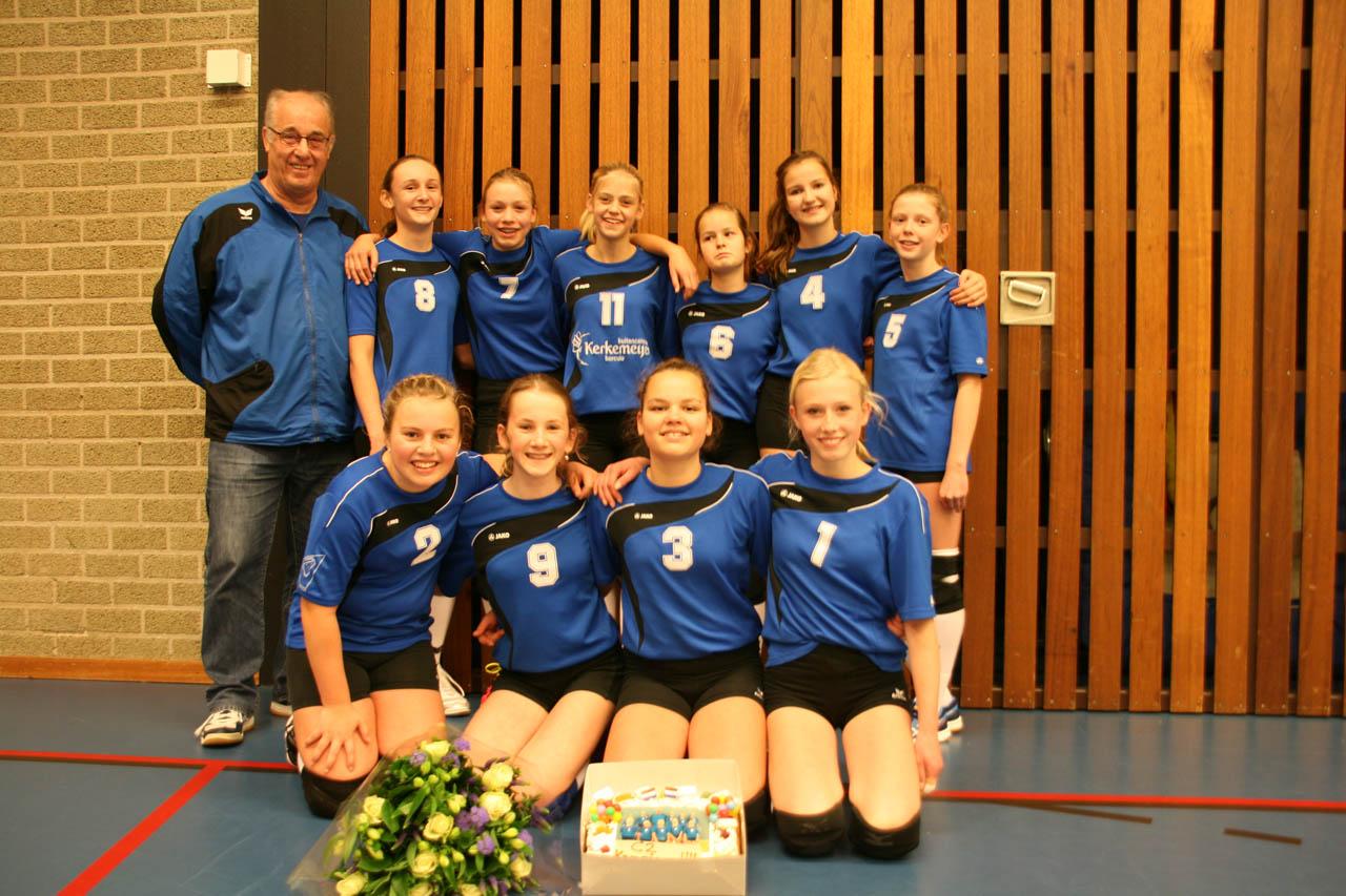 Meisjes C2 Kampioen
