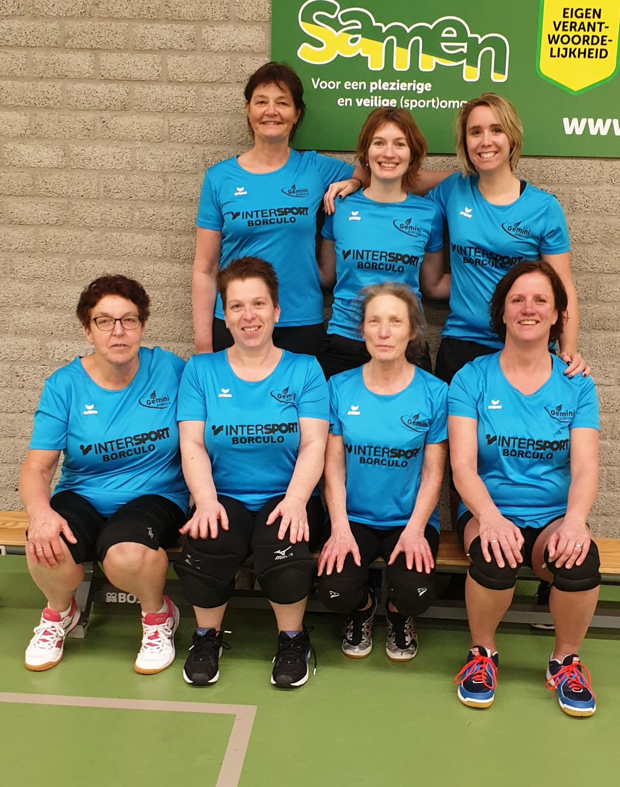Gemini Borculo - Team Recreanten Dames 2