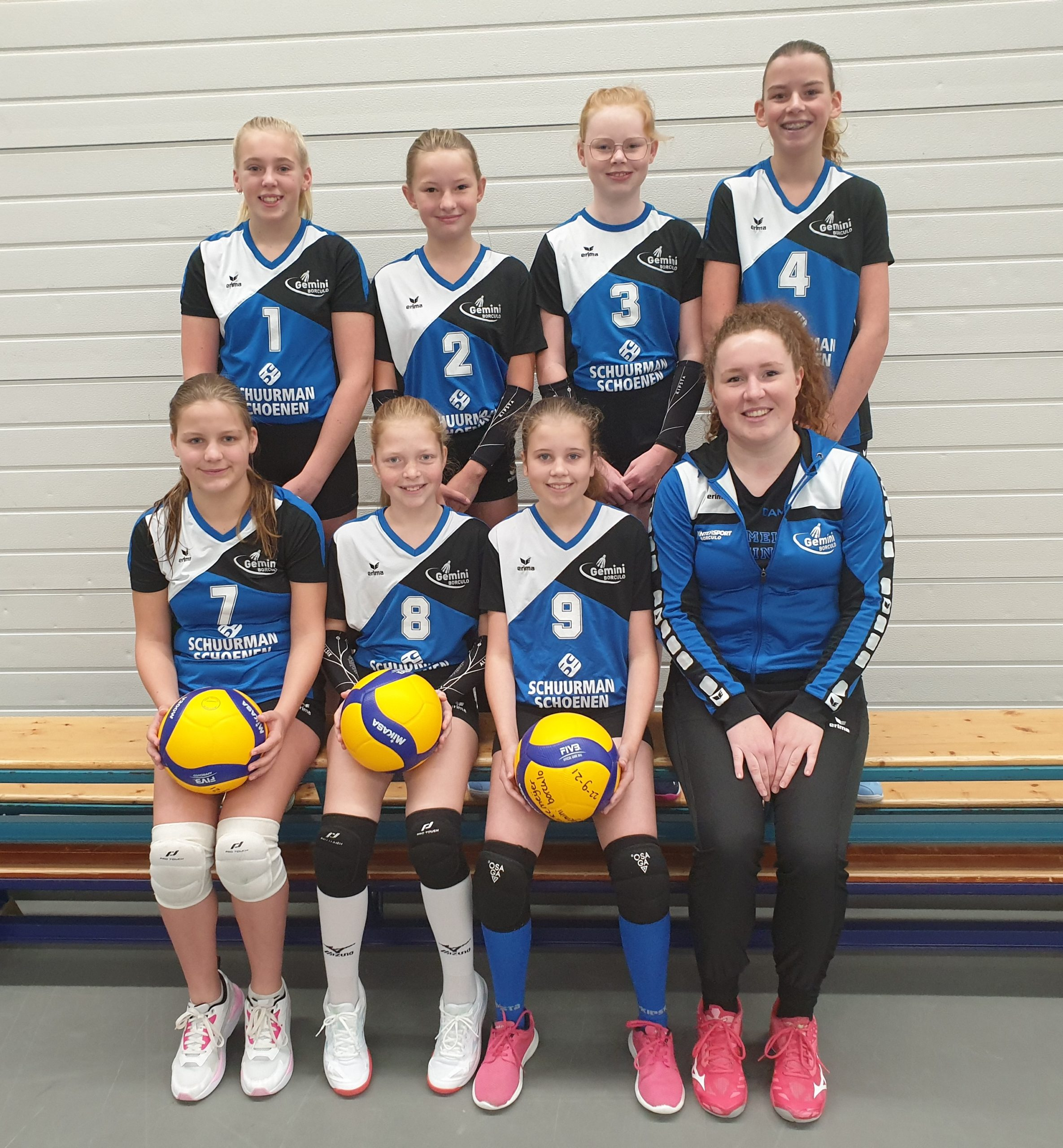 Gemini Borculo - Team Meisjes C1