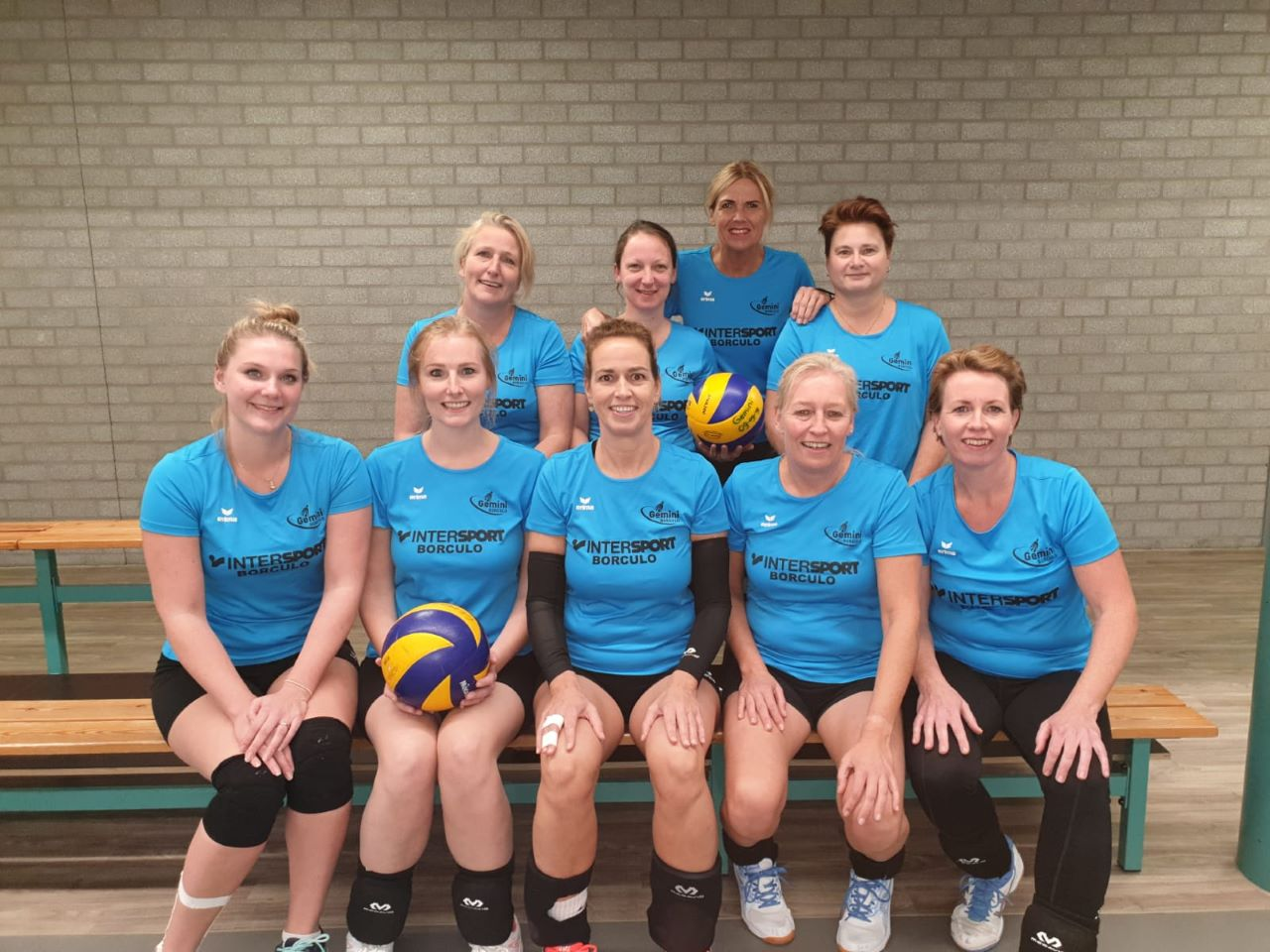 Gemini Borculo - Team Recreanten Dames 1