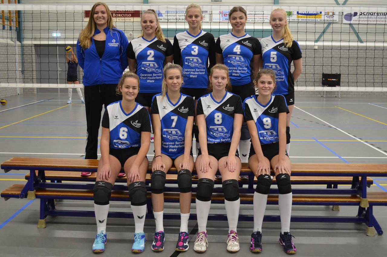 Gemini Borculo - Team Meisjes A2
