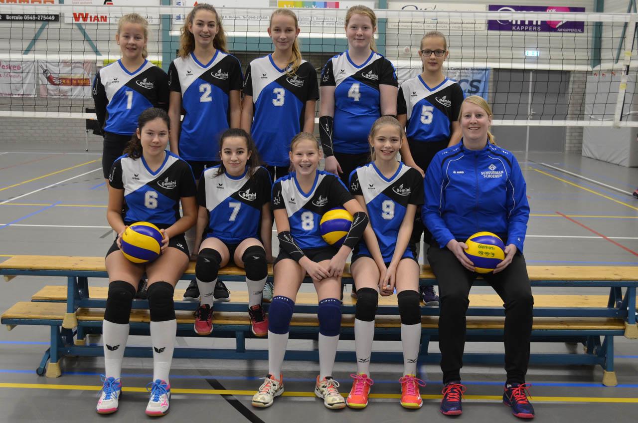 Gemini Borculo - Team Meisjes C2