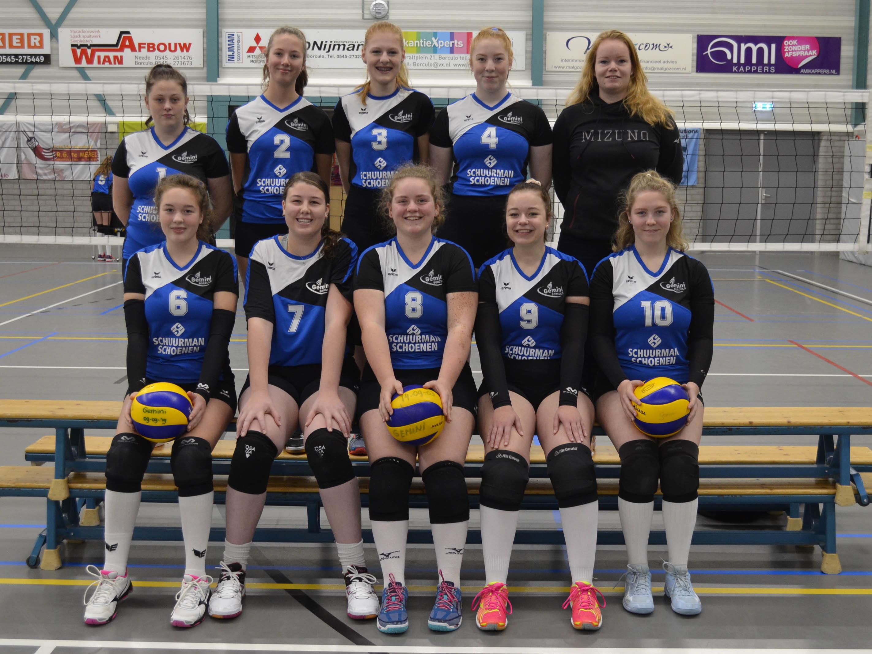 Gemini Borculo - Team Meisjes A1