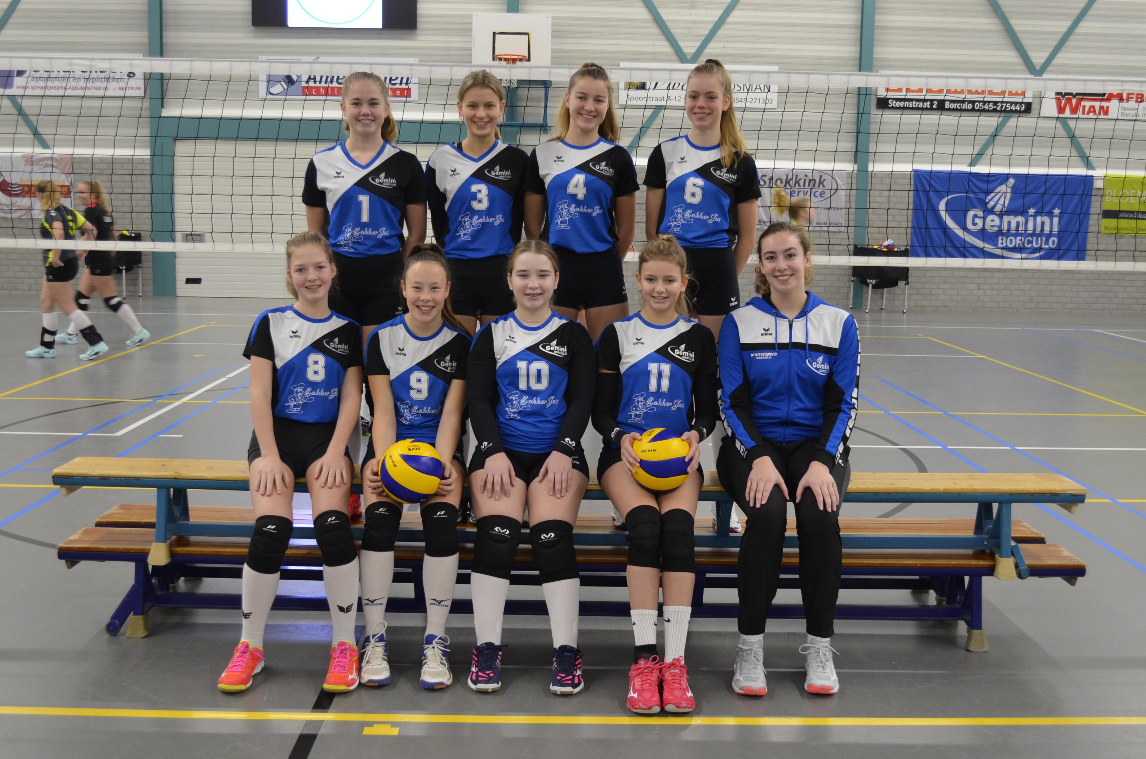 Gemini Borculo - Team Meisjes B1
